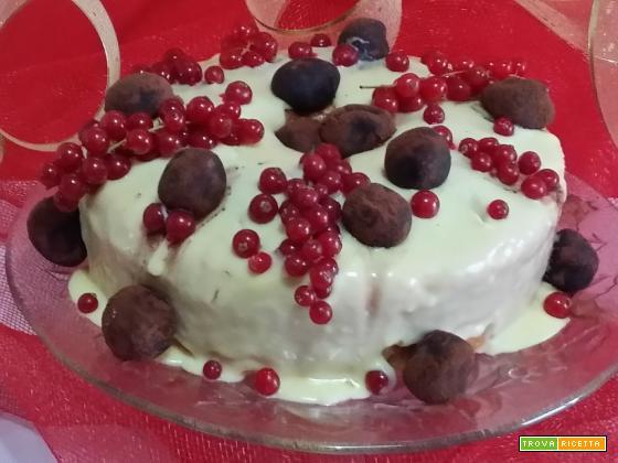 Chiffon cake al Maraschino