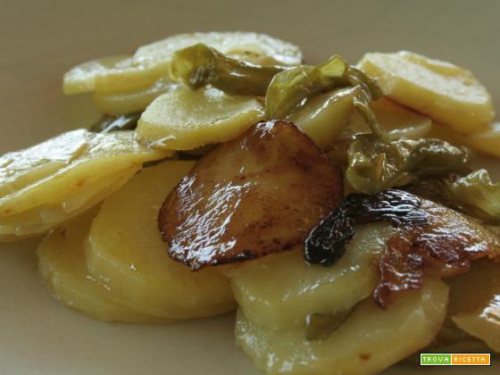 Friggitelli con patate