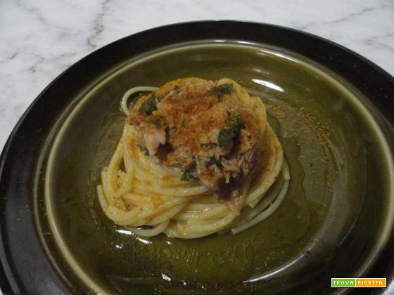Spaghetti tonno e bottarga