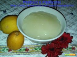 Crema di limoni senza uova