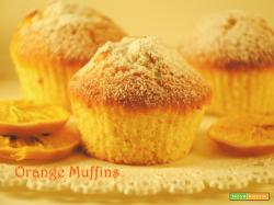 Orange Muffins morbidi e profumati