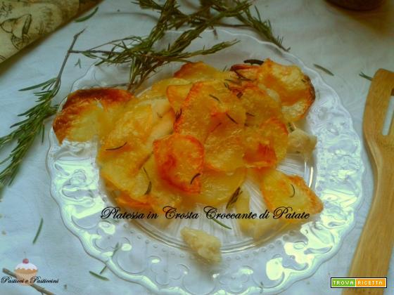 Platessa in Crosta Croccante di Patate