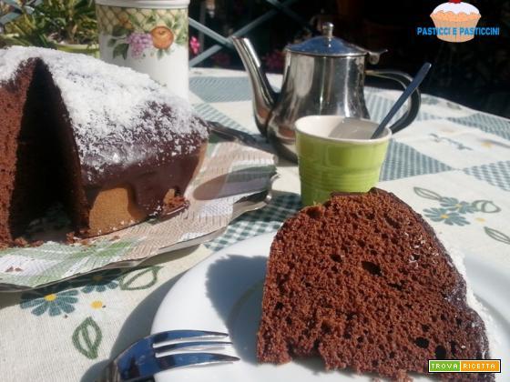 Torta cioccolata e cocco - PasticciePasticcini