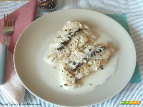 Filetti di merluzzo al pepe verde
