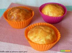 Muffin salati al salmone