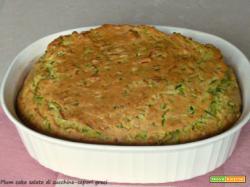 Plum cake salato di zucchine