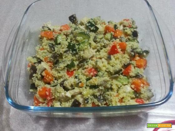 Cous cous con salsiccia e verdure