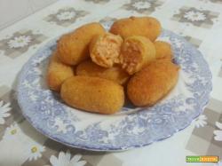 Crocchette di riso al sugo