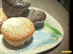 Muffins con yogurt e Nutella
