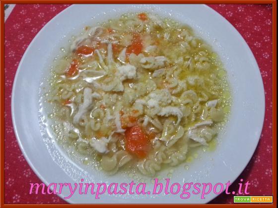 Zuppa di petto di pollo