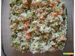 Insalata di riso e mare