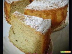 Chiffon cake allo yogurt