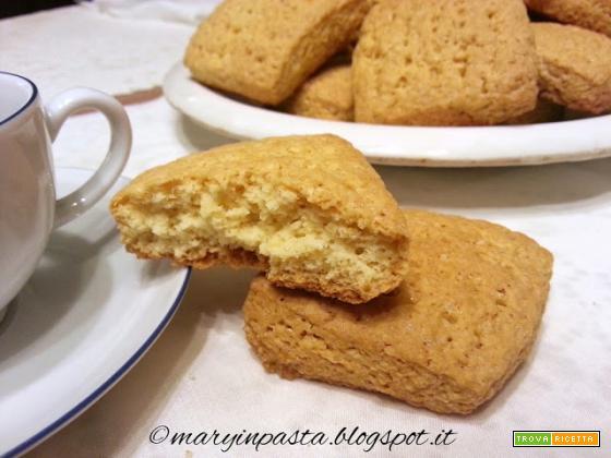 Biscotti rustici allo yogurt
