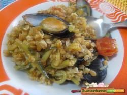 Enkir zucchine e cozze