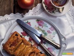 Sweet friday: Cake con mele, mirtilli e crème fraiche