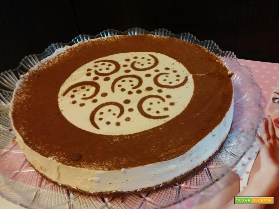 Torta fredda al caffè e cioccolato