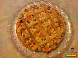 Torta rustica di verdure