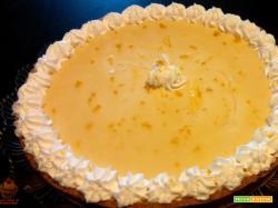 Crostata al limone e cioccolato bianco