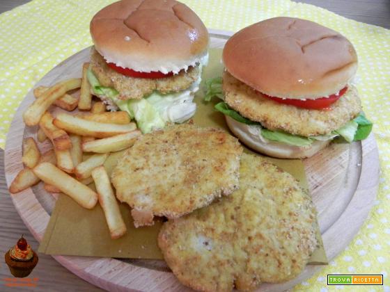 Fishburger o burger di pesce