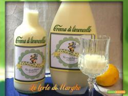 Liquore crema di limoncello fatto in casa