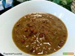 Zuppa di roveja al profumo di coriandolo