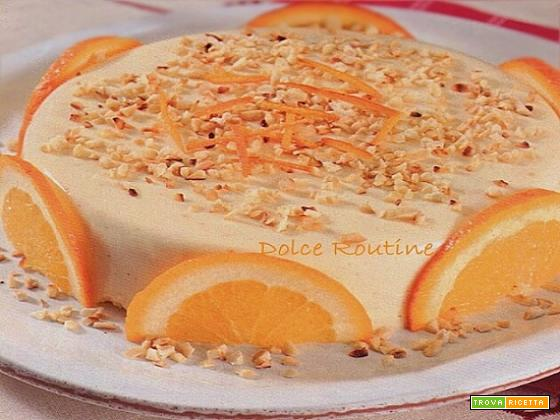 Semifreddo Senza Cottura all'Arancia
