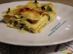 Lasagne asparagi bianchi e prosciutto cotto