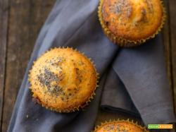 Muffins al lime e semi di papavero