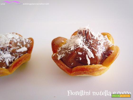 Fiorellini nutella e cocco