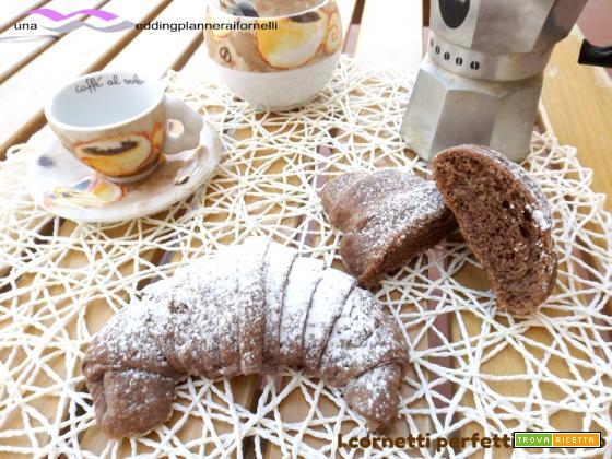 I Cornetti perfetti al cacao