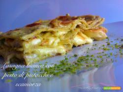 Lasagna bianca con pesto di pistacchi e scamorza|Una wedd...