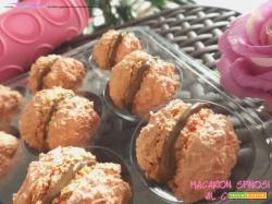 Macaron spinosi al cocco - con e senza Bimby