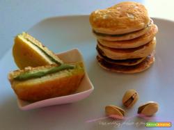 Mini dorayaki con crema al pistacchio | Una wedding planner...