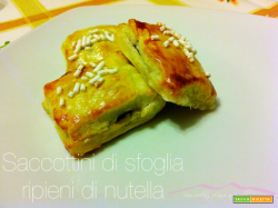 Saccottini di sfoglia ripieni di Nutella| Una wedding planner ai ..