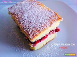 Torta paradiso con fragole