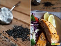 Essenza: Salmone affumicato al tè nero
