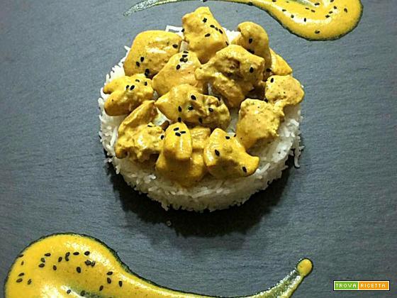 Pollo al curry - Oggi cucina...Emanuele