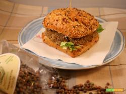 Hamburger vegano di roveja