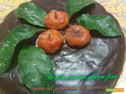 TORTA NOIR all'ARANCIA gluten free