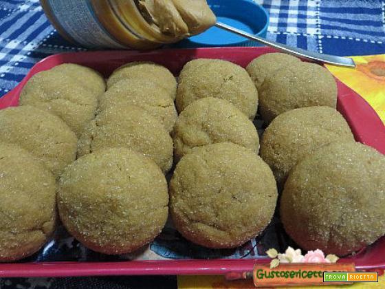 Biscotti alla crema di arachidi