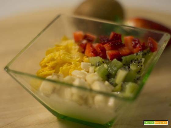 Muesli di frutta fresca
