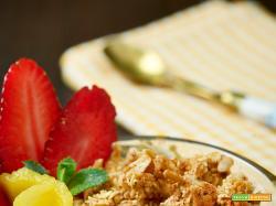 crema di mango con crumble