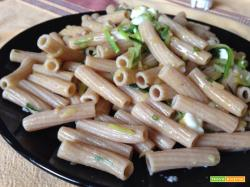 Con e Senza Bimby, Sedanini Semiintegrali al Farro con Zucchine Julienne e Stracchino