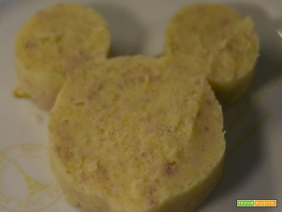 Purè di patate e prosciutto cotto