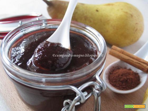 Confettura di pere e cacao alla cannella