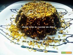 Budino al cioccolato e nocciole