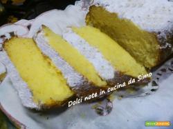 Soffice plumcake all'arancia e ricotta