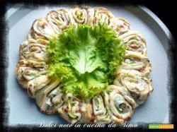 Coroncina farcita con zucchine prosciutto e ricotta