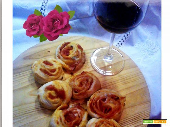 Roselline rustiche gorgonzola e rustichello