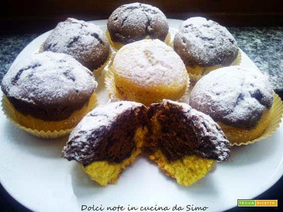 Muffin panna e nutella